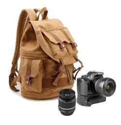 Regalar mochila para cámara