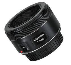 Regalar objetivo fotográfico. Canon 50mm