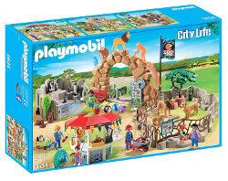 Playmobil animales salvajes y zoo
