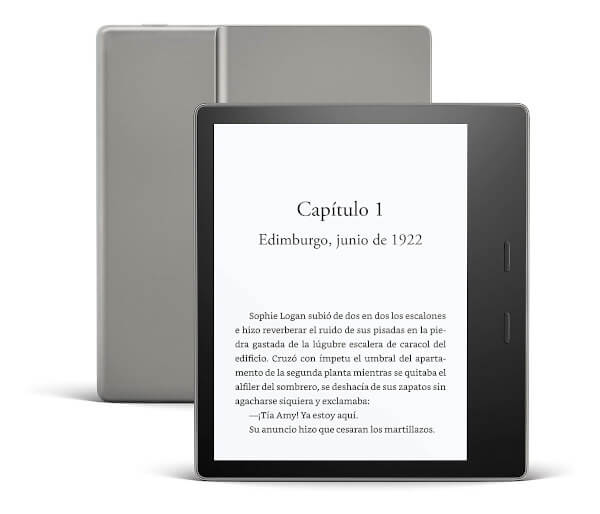Kindle - Lector de libros electrónicos